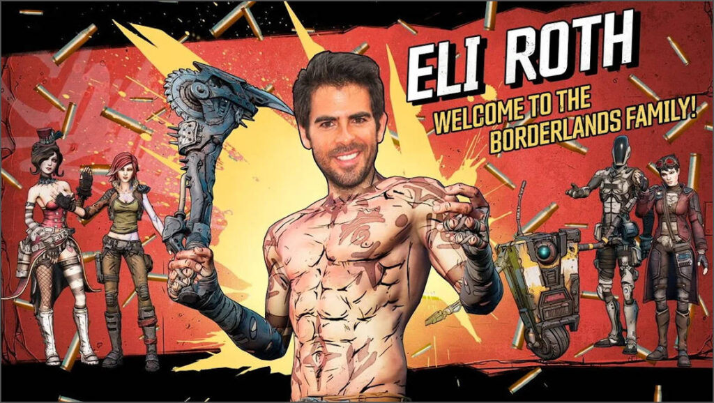 eli roth regista borderlands film